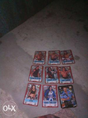 I want to sell my collection of wwe legends of 12