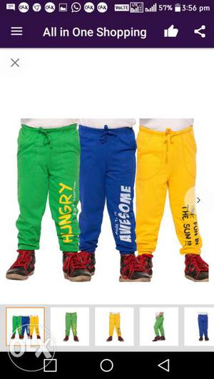 Maniac track pants for boys in multicolurs. 3