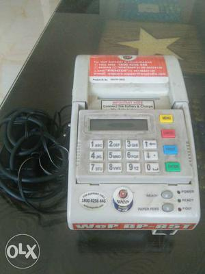Wep billing machine for fast billing. 6 months