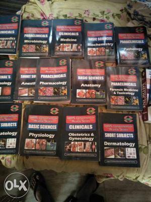 Books for medical pg preparation