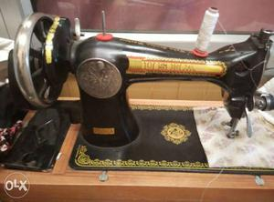 Sewing machine worth rupee  this is brand new