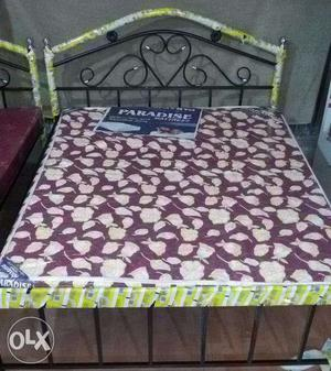 Very best quality wrought iron bed.