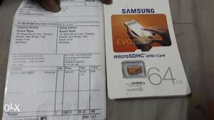 64 gb Memory card CL 10 mb