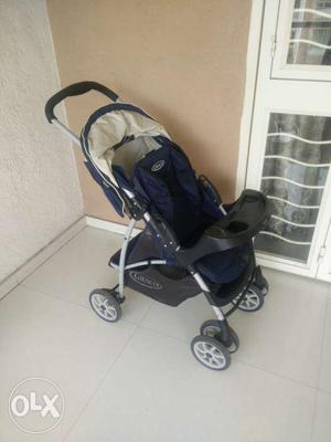 GRACO STROLLER 3 sitting position in a very good