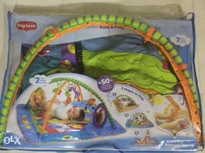 Play gym for new born babies with music...