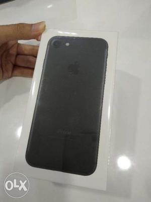 Brand New Sealed Pack iPhone 7 matte black 32Gb