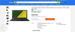 Intel celeron dual core 4th generation laptop only 3 months