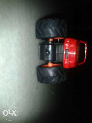 Red And Black Monster Truck Toy