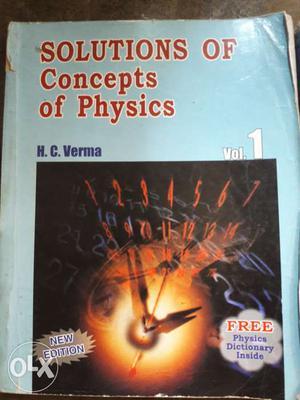 Concept of Physics HC VERMA part 1, 2