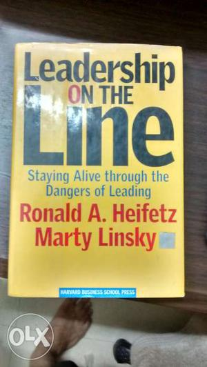 Leadership On the Line. From Harvard Business