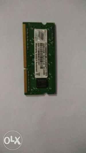 2GB DDR3 Laptop RAM Very good condition. G-SKILL