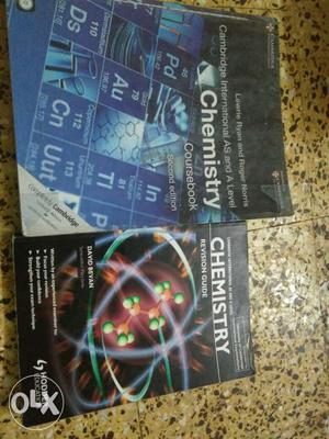 A level chemistry book with free CD and FREE revision
