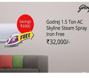 AC Offers - Cheapest Godrej AC in Sathya Chennai