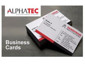 Alphatec it solution Business cards Kozhikode