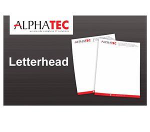 Alphatec it solution Letterhead Kozhikode