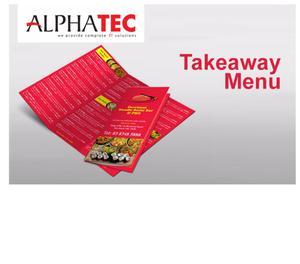 Alphatec it solution Takeaway menu Kozhikode