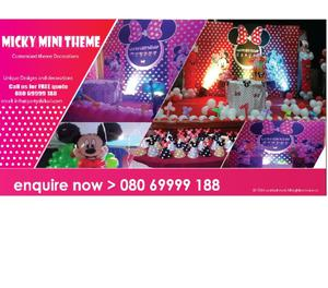 Best birthday party planners, party organisers in Bangalore