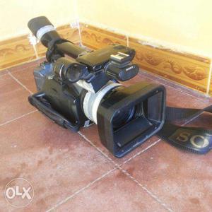 Black Sony Professional Video Recorder