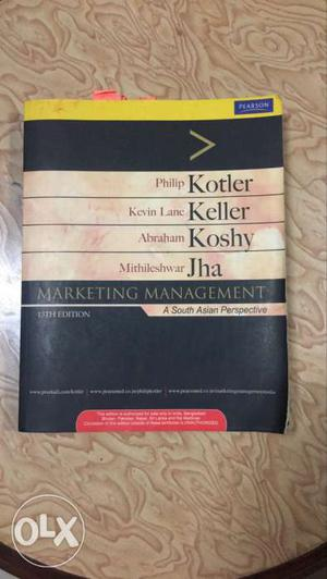 Book by Philip Kotler - Marketing Management 13th Edition