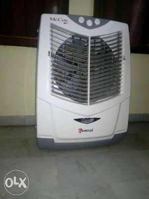 Grey And White McCoy Evaporative Air Cooler