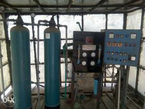 Industrial (RO & DM)150ltr / with fiber sheld
