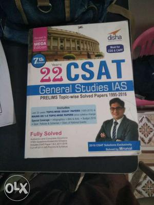 Nice book only two days used best for UPSC fresher