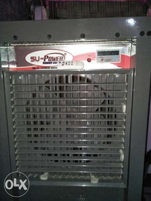 White And Red Su-Power Evaporative Air Cooler
