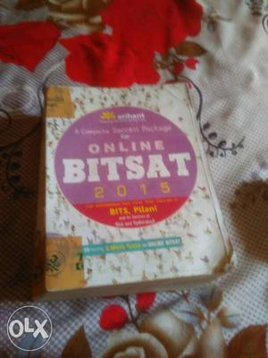 A complete book for BITSAT with aCD having 6 mock