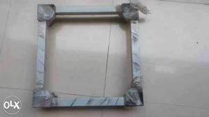 Adjustable Washing Machine Stand of aluminum body