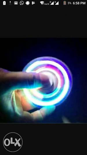 LED Fidget Hand Spinner At lowest price