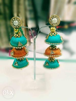 New Arrival of Handmade Jhumka with elegant