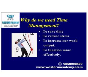 Why do we need time Management? Pune