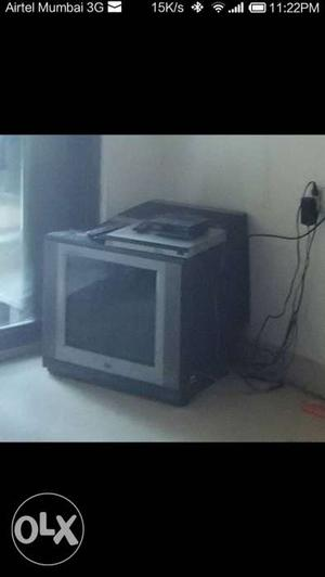 21 inch flat TV of LG company about 10 years old