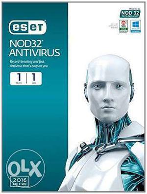ESET NOD32 Antivirus for PC 1 Year Subscription