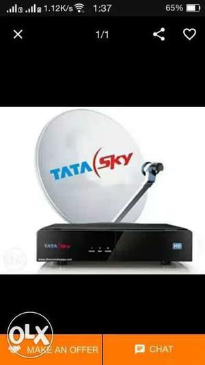 New Tata sky set of box