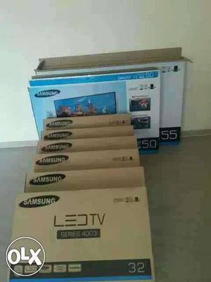 Samsung LED TV Box Lot