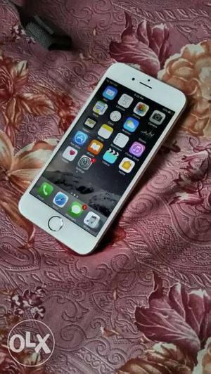 6 months old iPhone 6 Rose Gold 16GB With Bill,