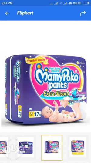 All Mamy Poko Pant available 30% discount on mrp