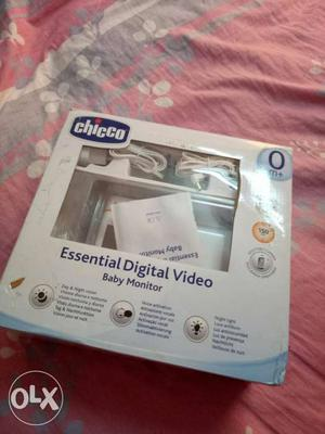 Chicco Essential Digital Video Baby Monitor Set In Box