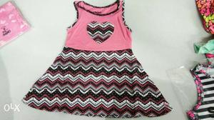 Girls Frock colours: 10 size: 2 To 8 Years retail