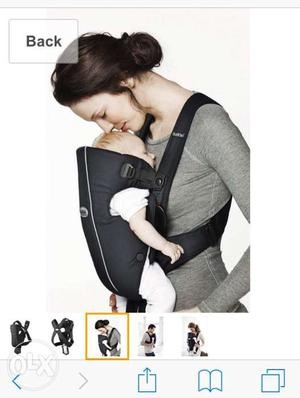 Hi selling this Baby Bjorn Baby Carrier For