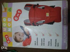 Mee Meet 6 In 1 Multi-position Baby Carrier Box