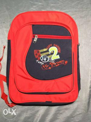 Quality fabric school bag for boys and girls...