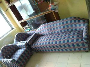 New 3+1+1 Sofa Set used for less than 1 month..