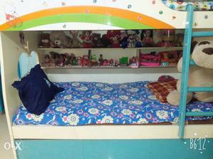 Rainbow kids bed