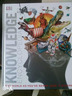 DK knowledge Encyclopedia book for sale. Want yo