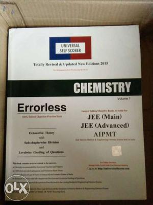Errorless of chemistry for JEE, AIPMT and for