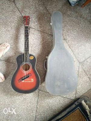 Guitar case for Rs 300 and damaged guitar for Rs