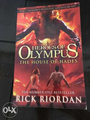 HEROES OF OLYMPUS The house of Hades Author -