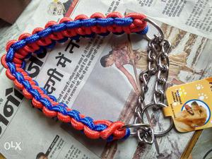 Brand new Dog Collar,can b attached with leashe